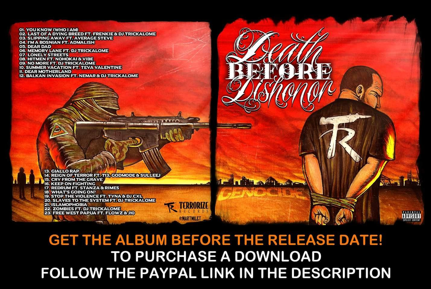 death before dishonor mp3 download